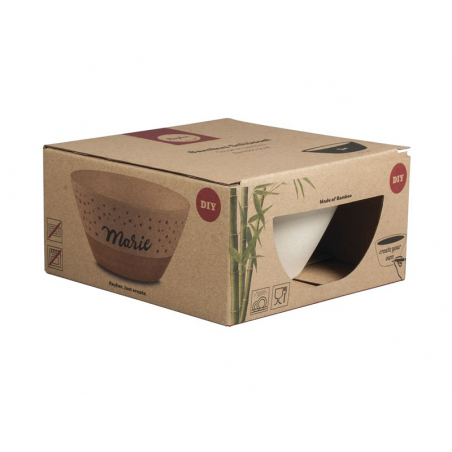 Acheter Bol en bambou à personnaliser - 4,19€ en ligne sur La Petite Epicerie - Loisirs créatifs