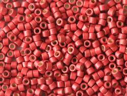 Acheter Miyuki Delicas 11/0 - Duracoat galvanized matte light cranberry DB-1841F - 8,89€ en ligne sur La Petite Epicerie - L...