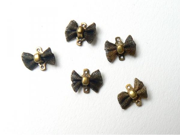 1 bow connector - bronze-coloured