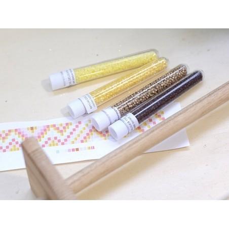 Acheter Miyuki Delicas 11/0 - Opaque matte yellow DB-751 - 3,09€ en ligne sur La Petite Epicerie - Loisirs créatifs