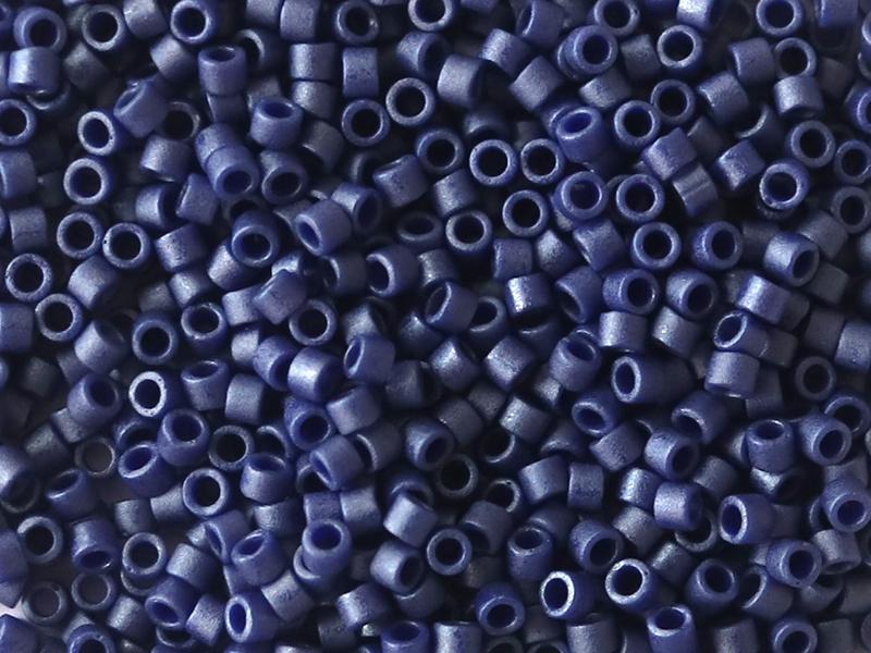 Acheter Miyuki Delicas 11/0 - Metallic matte royal blue DB-377 - 5,79€ en ligne sur La Petite Epicerie - Loisirs créatifs