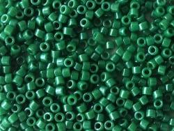 Acheter Miyuki Delicas 11/0 - Opaque dyed green DB-656 - 2,99€ en ligne sur La Petite Epicerie - Loisirs créatifs
