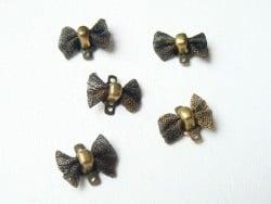1 noeud connecteur - couleur bronze  - 2