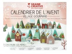 Acheter Calendrier de l'avent 2020 - Village gourmand 33 x 25 cm - 7,99€ en ligne sur La Petite Epicerie - Loisirs créatifs