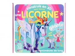 Acheter Coffret livre - construis une licorne en 3D - 19,90€ en ligne sur La Petite Epicerie - Loisirs créatifs