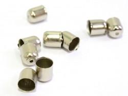 Coquille cylindre - couleur argent foncé