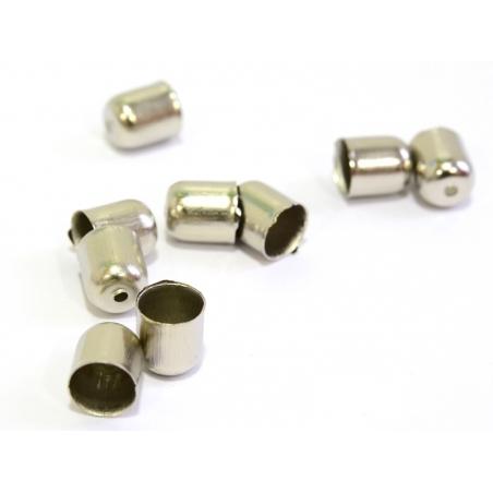 Acheter Coquille cylindre - couleur argent foncé - 0,19€ en ligne sur La Petite Epicerie - Loisirs créatifs