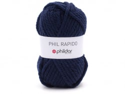Acheter Laine à tricoter Rapido - Indigo - 3,15€ en ligne sur La Petite Epicerie - Loisirs créatifs