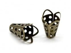 Coquille dentellée - couleur bronze