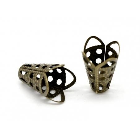 Acheter Coquille dentellée - couleur bronze - 0,19€ en ligne sur La Petite Epicerie - Loisirs créatifs