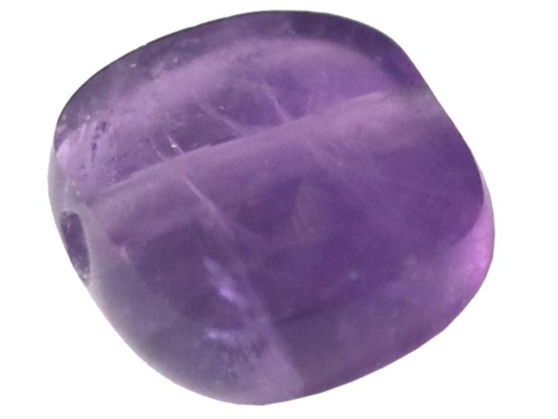 Acheter Perle naturelle à facettes carré - Améthyste - 8 x 8 mm - 1,19€ en ligne sur La Petite Epicerie - Loisirs créatifs