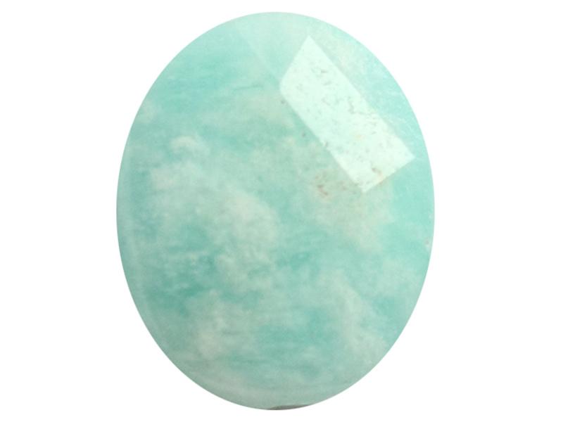 Acheter Perle naturelle à facettes ovale - Amazonite - 10 x 8 mm - 1,59€ en ligne sur La Petite Epicerie - Loisirs créatifs