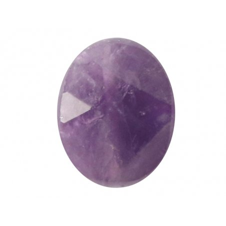 Acheter Perle naturelle à facettes ovale - Amethyste - 10 x 8 mm - 1,59€ en ligne sur La Petite Epicerie - Loisirs créatifs