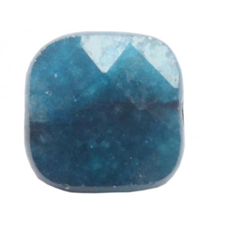 Acheter Perle naturelle à facettes carré - Apatite bleue - 8 x 8 mm - 1,19€ en ligne sur La Petite Epicerie - Loisirs créatifs