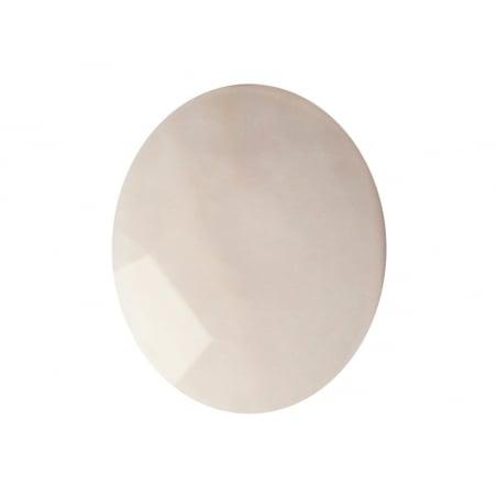 Acheter Perle naturelle à facettes ovale - Opale rose - 10 x 8 mm - 1,59€ en ligne sur La Petite Epicerie - Loisirs créatifs