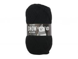 Acheter Laine Drops - Snow - 02 noir (uni colour) - 2,39€ en ligne sur La Petite Epicerie - Loisirs créatifs