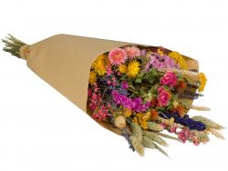Acheter Bouquet de fleurs séchées - coloris multicolore - taille large - 25,99€ en ligne sur La Petite Epicerie - Loisirs cr...