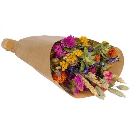 Acheter Bouquet de fleurs séchées - coloris multicolore - petite taille - 14,99€ en ligne sur La Petite Epicerie - Loisirs c...