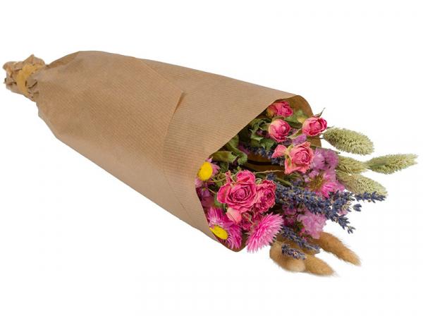 Acheter Bouquet de fleurs séchées - coloris rose - taille mini - 11,99€ en ligne sur La Petite Epicerie - Loisirs créatifs