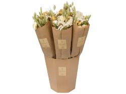 Acheter Bouquet de fleurs séchées - coloris naturel - taille mini - 11,99€ en ligne sur La Petite Epicerie - Loisirs créatifs