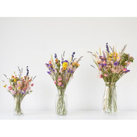 Acheter Bouquet de fleurs séchées - coloris rose - taille large - 25,99€ en ligne sur La Petite Epicerie - Loisirs créatifs
