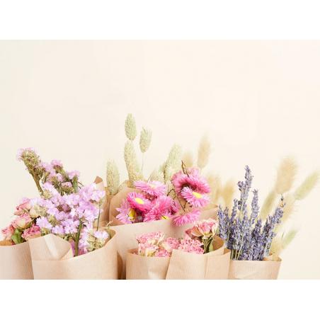Acheter Bouquet de fleurs séchées - coloris rose - taille medium - 19,99€ en ligne sur La Petite Epicerie - Loisirs créatifs