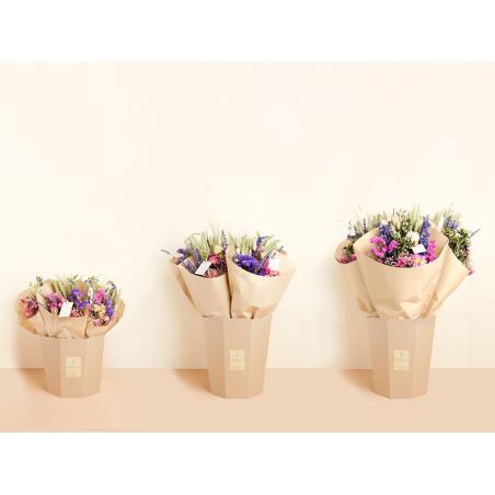 Acheter Bouquet de fleurs séchées - coloris naturel - taille medium - 19,99€ en ligne sur La Petite Epicerie - Loisirs créatifs