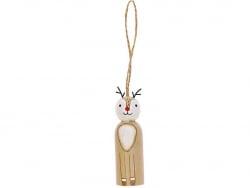 Acheter Renne en bois à suspendre - 6,19€ en ligne sur La Petite Epicerie - Loisirs créatifs