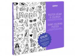 Acheter Poster géant à colorier - Stylist - 11,90€ en ligne sur La Petite Epicerie - Loisirs créatifs