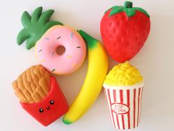 Acheter Coffret Mes 5 grands squishy à collectionner - Food and Fruit - 41,95€ en ligne sur La Petite Epicerie - Loisirs cré...