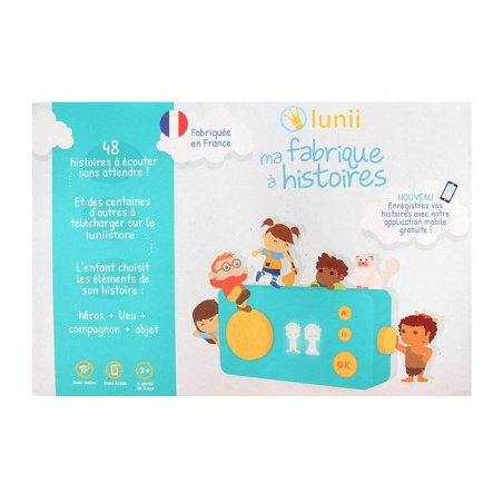 Acheter Ma fabrique à histoires - Lunii - 59,99€ en ligne sur La Petite Epicerie - Loisirs créatifs