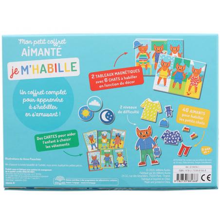 Acheter Mon petit coffret aimanté - Je m'habille - 14,95€ en ligne sur La Petite Epicerie - Loisirs créatifs