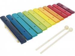 Acheter Xylophone géant arc-en-ciel - Vilac - 21,59€ en ligne sur La Petite Epicerie - Loisirs créatifs