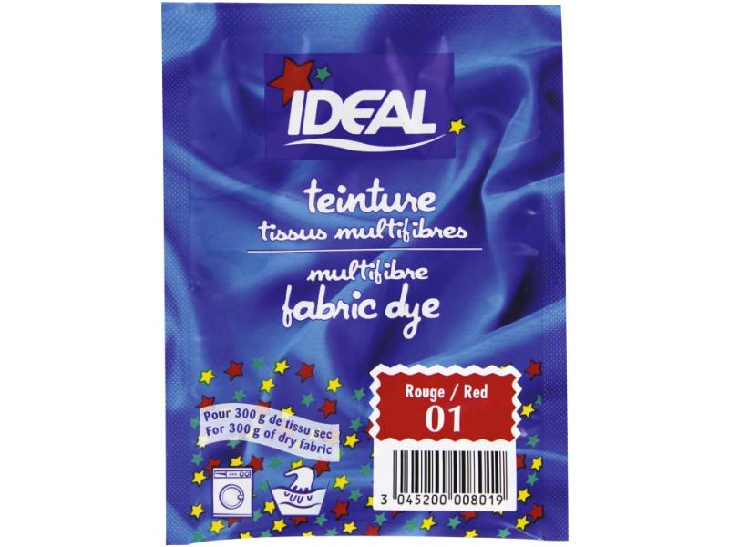 Acheter Teinture tissu 15 g - rouge 01 - 3,29€ en ligne sur La Petite Epicerie - Loisirs créatifs