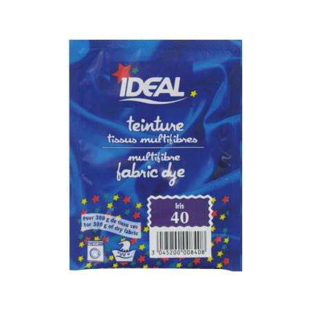Acheter Teinture tissu 15 g - violet iris 40 - 3,29€ en ligne sur La Petite Epicerie - Loisirs créatifs