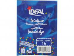 Acheter Teinture tissu 15 g - bleu royal 16 - 3,29€ en ligne sur La Petite Epicerie - Loisirs créatifs