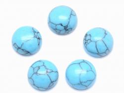 Acheter Cabochon rond Turquoise - 8 mm - 0,69€ en ligne sur La Petite Epicerie - Loisirs créatifs