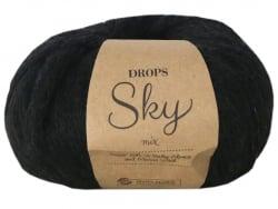 Acheter Laine Drops - Sky - 05 Noir (mix) - 5,85€ en ligne sur La Petite Epicerie - Loisirs créatifs