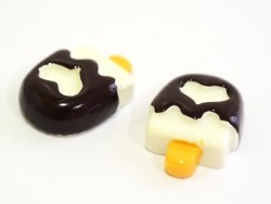 Eis-am-Stiel-Cabochon - Schokolade