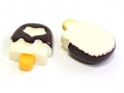 Cabochon esquimau au chocolat