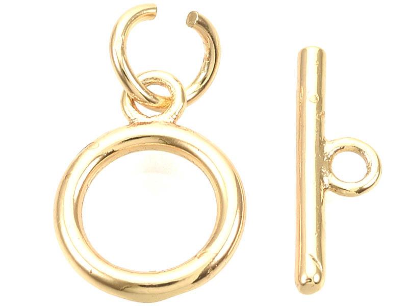 Acheter 1 fermoir Toogle - doré à l'or fin 18k - 12 mm - 1,19€ en ligne sur La Petite Epicerie - Loisirs créatifs