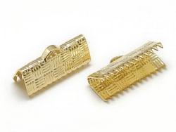 Acheter 1 fermoir griffe 20 mm - doré à l'or fin 18k - 0,49€ en ligne sur La Petite Epicerie - Loisirs créatifs