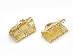 Acheter 1 fermoir griffe 10 mm - doré à l'or fin 18k - 0,19€ en ligne sur La Petite Epicerie - Loisirs créatifs