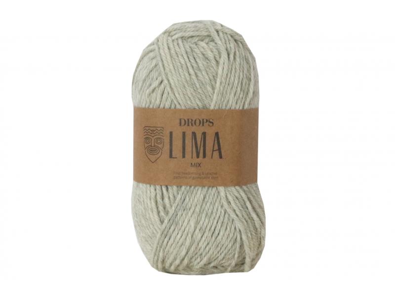 Acheter Laine Drops - Lima - 9020 Gris perle (uni color) - 2,65€ en ligne sur La Petite Epicerie - Loisirs créatifs