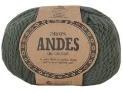 Acheter Laine Drops - Andes - 7810 Vert mousse (uni) - 5,30€ en ligne sur La Petite Epicerie - Loisirs créatifs
