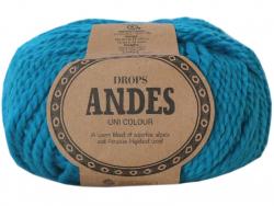 Acheter Laine Drops - Andes - 6420 Turquoise (uni) - 5,30€ en ligne sur La Petite Epicerie - Loisirs créatifs