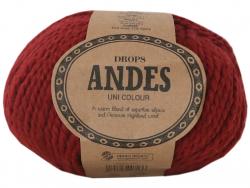 Acheter Laine Drops - Andes - 3946 Rouge (uni) - 5,30€ en ligne sur La Petite Epicerie - Loisirs créatifs