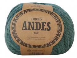 Acheter Laine Drops - Andes - 7130 Vert océan (mix) - 5,60€ en ligne sur La Petite Epicerie - Loisirs créatifs