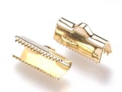 Acheter 1 fermoir griffe - 7 x 13 mm - doré à l'or fin 18k - 0,99€ en ligne sur La Petite Epicerie - Loisirs créatifs