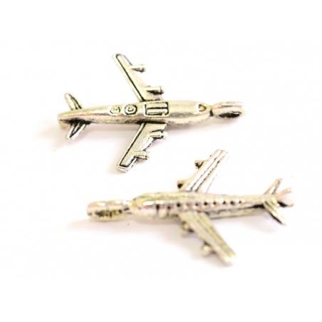Acheter 1 Breloque avion de ligne - argentée - 0,89€ en ligne sur La Petite Epicerie - Loisirs créatifs